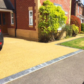 Square Premier Resin Drives - Driveway 7
