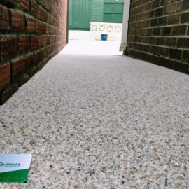 Mixed Cream Resin Side Path